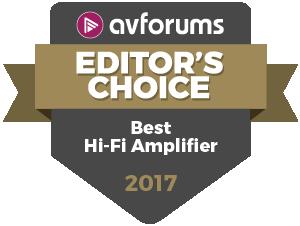 AVForums Best-Hi-Fi-Amplifier-2017 Audiolab M-ONE